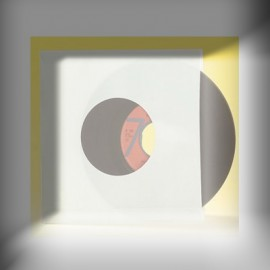 SOUS-POCHETTE EP/45t PAPIER BLANC AVEC TROU x 20