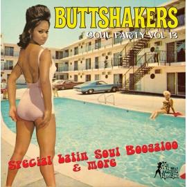 VARIOUS : LP Buttshakers Soul Party vol 13