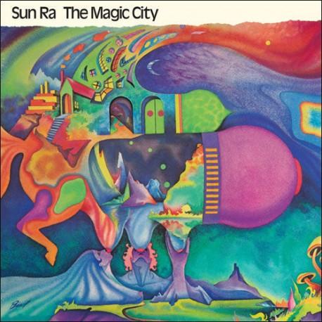 SUN RA & THE BLUES PROJECT : LP The Magic City
