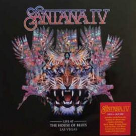 SANTANA : LPx3+DVD Santana IV Live At The House Of Blues Las Vegas