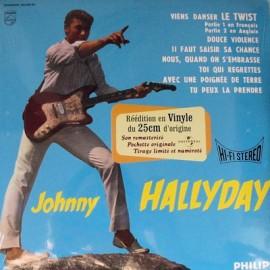"HALLYDAY Johnny : 10""EP Viens Danser Le Twist"