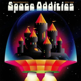 VARIOUS : LP Space Oddities 1970-1982
