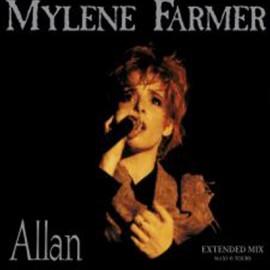 """MYLENE FARMER : 12""""EP Allan"""