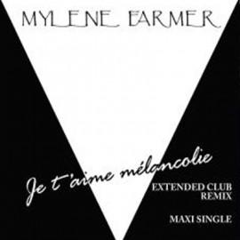 """MYLENE FARMER : 12""""EP Je t'aime mélancolie"""
