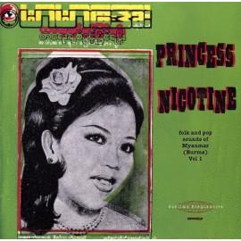 VARIOUS : LP Princess Nicotine : Folk And Pop Sounds Of Myanmar (Burma) Vol 1