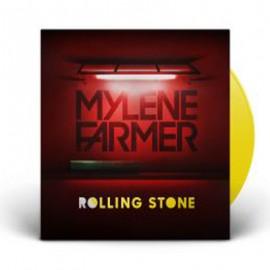 "MYLENE FARMER : 12""EP Rolling Stone (Jaune)"