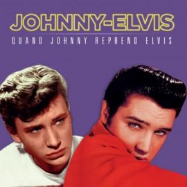 HALLYDAY Johnny : LP Quand Johnny Reprend Elvis