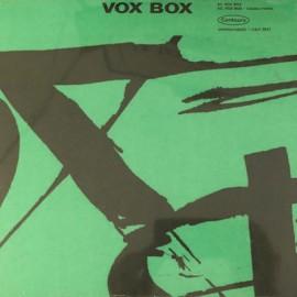 """CASADAMONT Amandine / ALEXIS Rodolphe : 12""""EP Vox Box"""