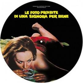 MORRICONE Ennio : LP Picture Le Foto Proibite Di Una Signora Per Beneo