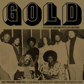 GOLD (jazz) : CD Lost Treasure From 1974: A 24K Nugget Of Previously Unreleased Psychedelic Soul
