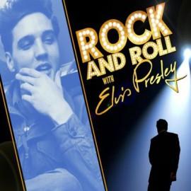 PRESLEY Elvis : LP Rock And Roll With Elvis Presley