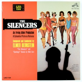 BERNSTEIN Elmer : LP The Silencers