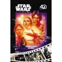 STAR WARS : Book A New Hope Cinestory Comic : 40th Anniversary Edition