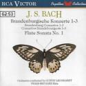 2nd HAND / OCCAS : BACH Jean-Sébastien : CD Brandenburgische Konzerte 1-3