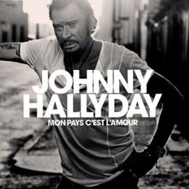 HALLYDAY Johnny : LP  Mon pays c'est l'amour