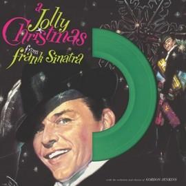 FRANK SINATRA : LP A Jolly Christmas (Green)