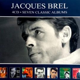 BREL Jacques : CDx4 Seven Classic Albums