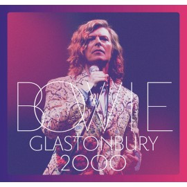 BOWIE David : LPx3 Glastonbury 2000