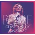 BOWIE David : LPx3 Glastonbury 2000