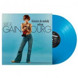 GAINSBOURG Serge : LP Histoire de Melody Nelson Vinyle bleu turquoise