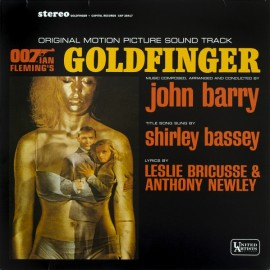 BARRY John : LP Goldfinger