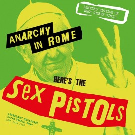SEX PISTOLS : LP Anarchy In Rome