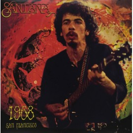 SANTANA : LP 1968 San Francisco