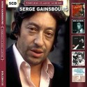 GAINSBOURG Serge : CDx5 Timeless Classic Albums