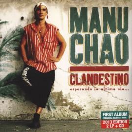 MANU CHAO : LPx2+CD Clandestino