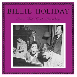 HOLIDAY Billie : LP Rare West Coast Recordings