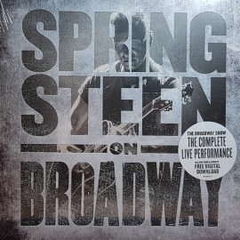 SPRINGSTEEN Bruce : LPx4 Springsteen On Broadway