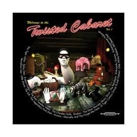 VARIOUS : CD+Bonus DVD Twisted Cabaret vol.01