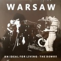 WARSAW : LP An Ideal For Living - The Demos