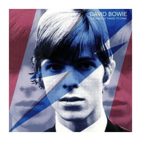 BOWIE David : The Shape Of Things To Come (blue)