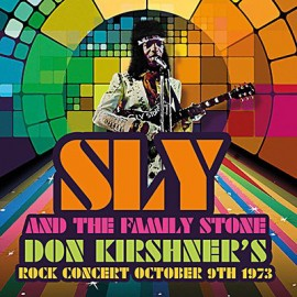 SLY & THE FAMILY STONE : LP Don Kirshner's Rock Concert October 9th 1973