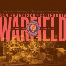 GRATEFUL DEAD : LPx2 The Warfield, San Francisco, CA 10/9/80 & 10/10/80