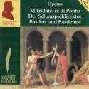 MOZART Wolfgang Amadeus : CDx5 Mozart Edition Vol.11 - Operas (5 CDs Box)