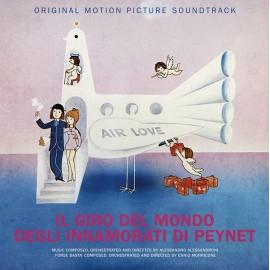 MORRICONE Ennio / ALESSANDRONI Alessandro : LP Il Giro Del Mondo Degli Innamorati Di Peynet