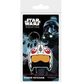 STAR WARS KEYRING : Rogue One Rebel Helmet