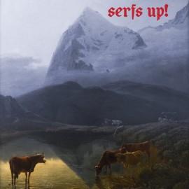 FAT WHITE FAMILY (the) : LP Serfs Up! (Gold)