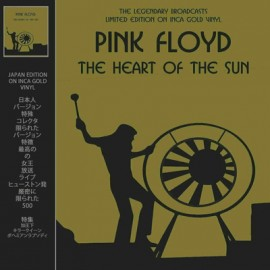 PINK FLOYD : LP The Heart Of The Sun - Inca Gold Vinyl