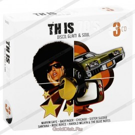 VARIOUS : CDx3 This 70's - Disco Glam And Soul