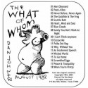 """DANIEL JOHNSTON : CDR """"The What Of Whom"""""""