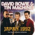 BOWIE David / TIN MACHINE : CD Japan 1992 (The Classic Budokan Broadcast)