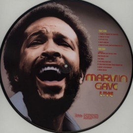 GAYE Marvin : LP Picture Marvin Gaye Live!