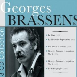 BRASSENS Georges : CDx3 6 Original Albums
