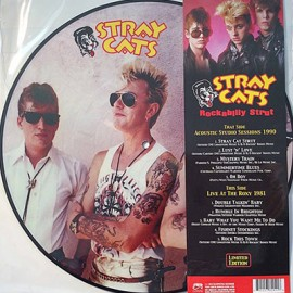 STRAY CATS : LP Picture Rockabilly Strut