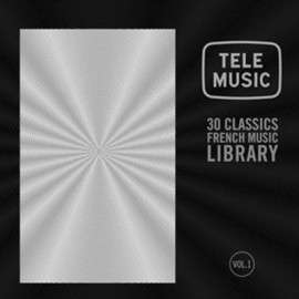 VARIOUS : LPx2 Tele Music - 30 Classics French Music Library, Vol. 1