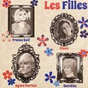 """VARIOUS : 7""""EP LES FILLES - 4 Rare Tracks From The 60's By Some Of The Ye Ye Girls"""