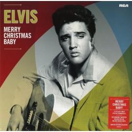 PRESLEY Elvis : LP Merry Christmas Baby